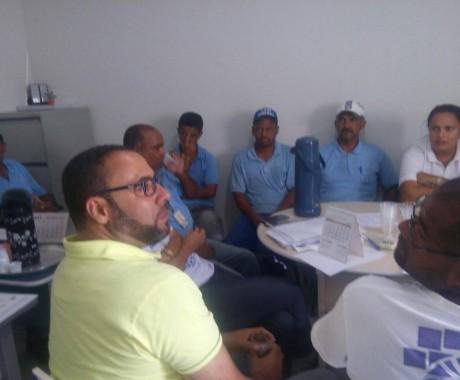 Primeira reunião da CIPA de 2017