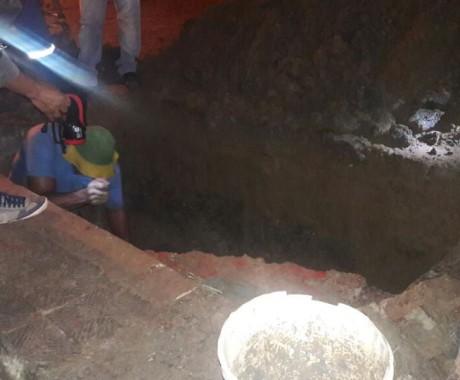 Vazamento de Água do bairro Clodoaldo Costa