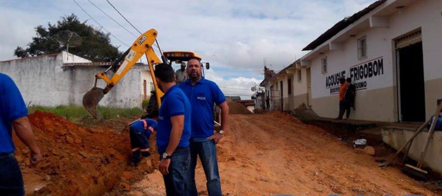 Atendendo a uma antiga solicitação dos moradores do bairro Quintas do Sul