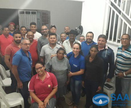 SAAE ANUNCIA EXTENSÃO DE REDE DE ESGOTO PARA O BAIRRO QUINTAS DO SUL
