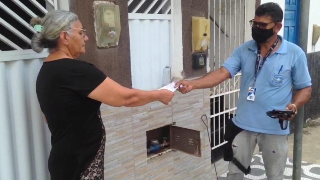 SAAE APRESENTA NOVO MODELO DE CONTA DE ÁGUA IMPRESSA E ENTREGUE AO USUÁRIO NO MOMENTO DA LEITURA