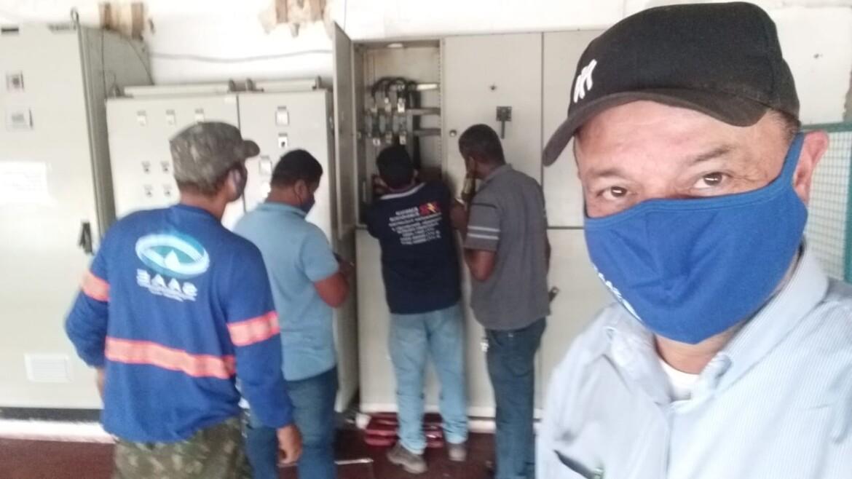 ITAPETINGA: ABASTECIMENTO DE ÁGUA RESTABELECIDO. BOMBAS ESTÃO FUNCIONANDO NORMALMENTE.