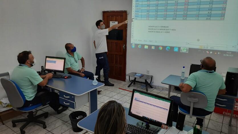 SAAE PROMOVE CURSOS DE CAPACITAÇÃO EM INFORMÁTICA AOS SEUS SERVIDORES PARA MELHOR ATENDIMENTO AO PÚBLICO.